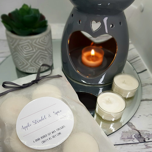 Apple Strudel and Spice Tealights