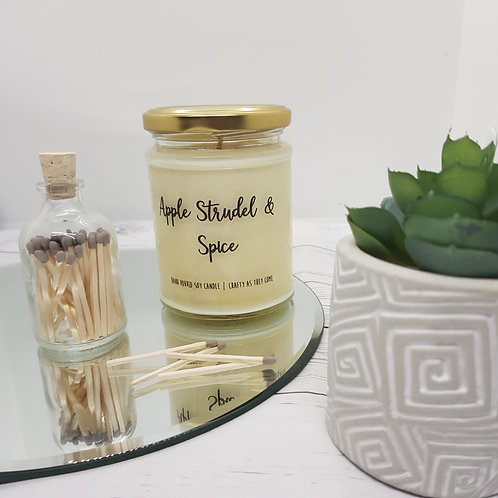 Apple Strudel & Spice Jar Candle