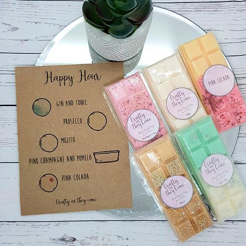 'Happy Hour' Wax Melt Gift Box