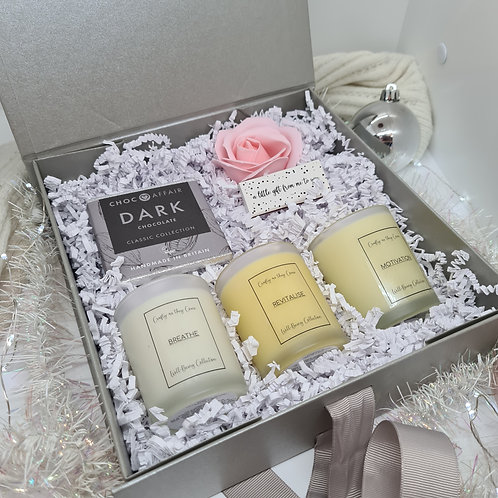 Mini Candle Hamper