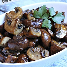Sautéed Balsamic Mushrooms