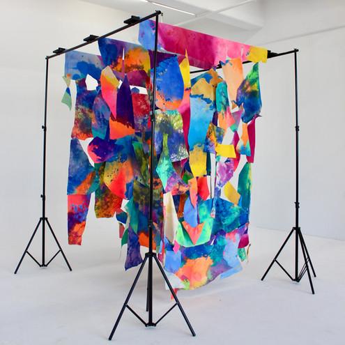 Untitled, made w/ Julia Brandao, 108 x 72 x 72