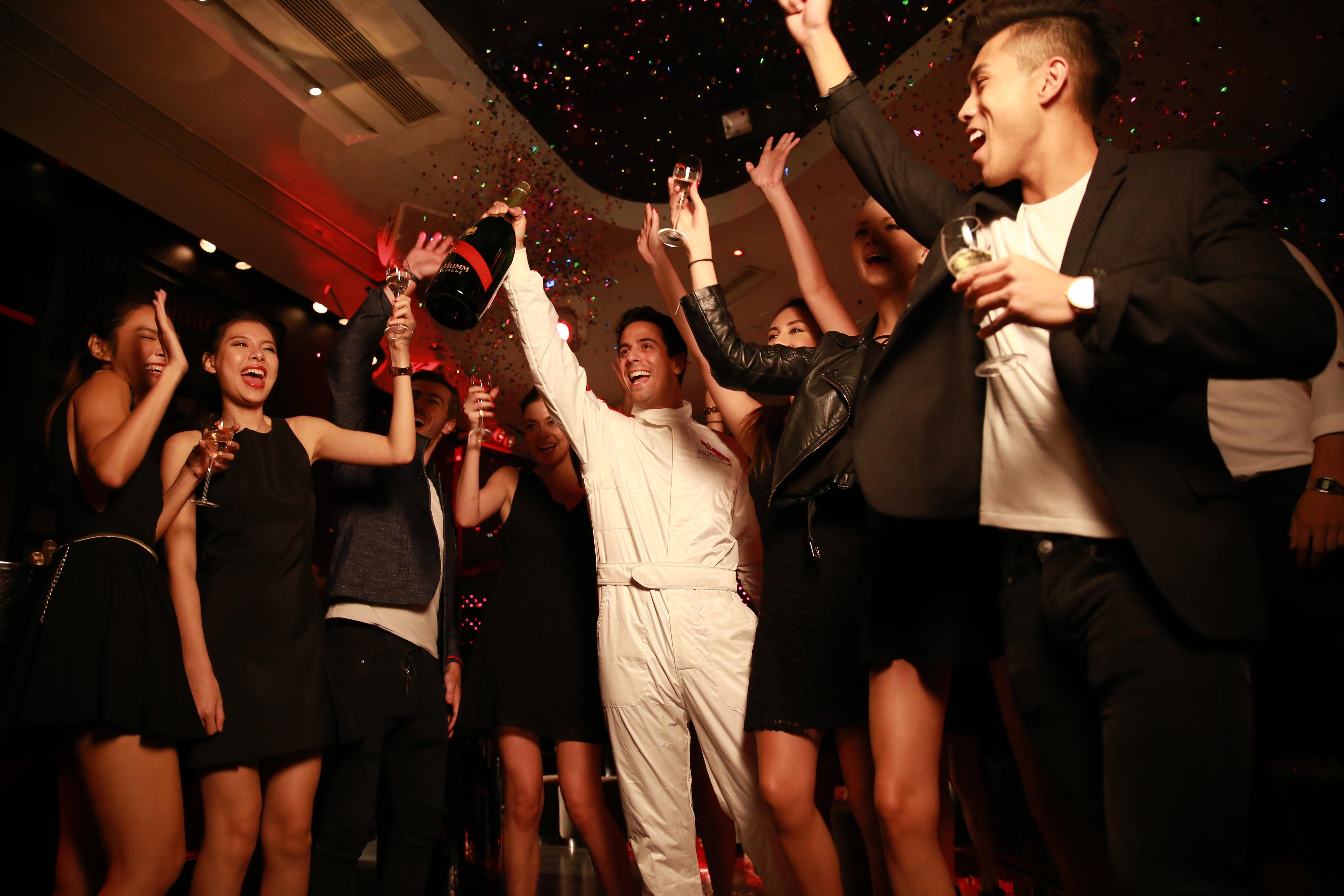 G.H.MUMM Champagne event