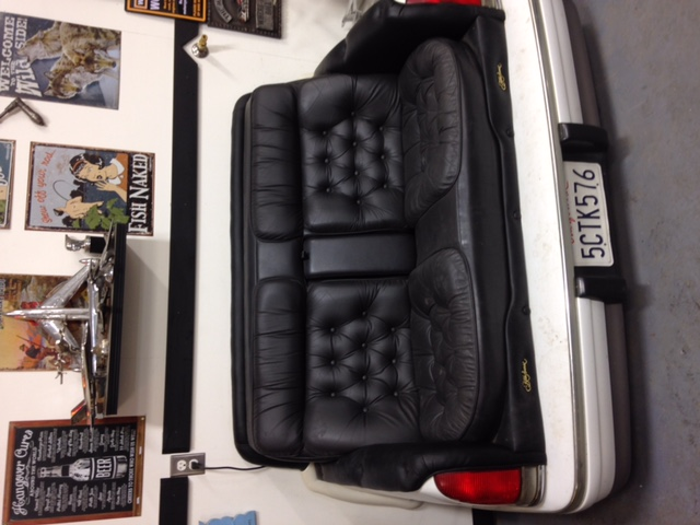 Custom Made Couch Seat