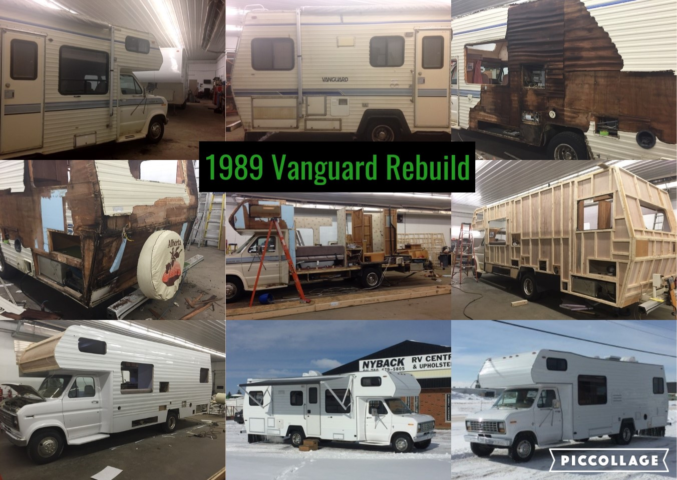 1989 Vanguard Rebuild