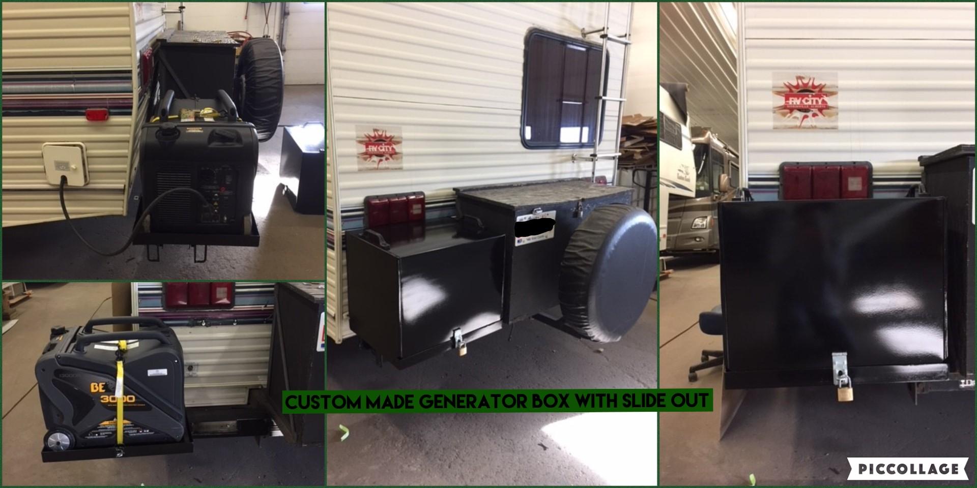 Custom Made Generator Box w/SlideOut