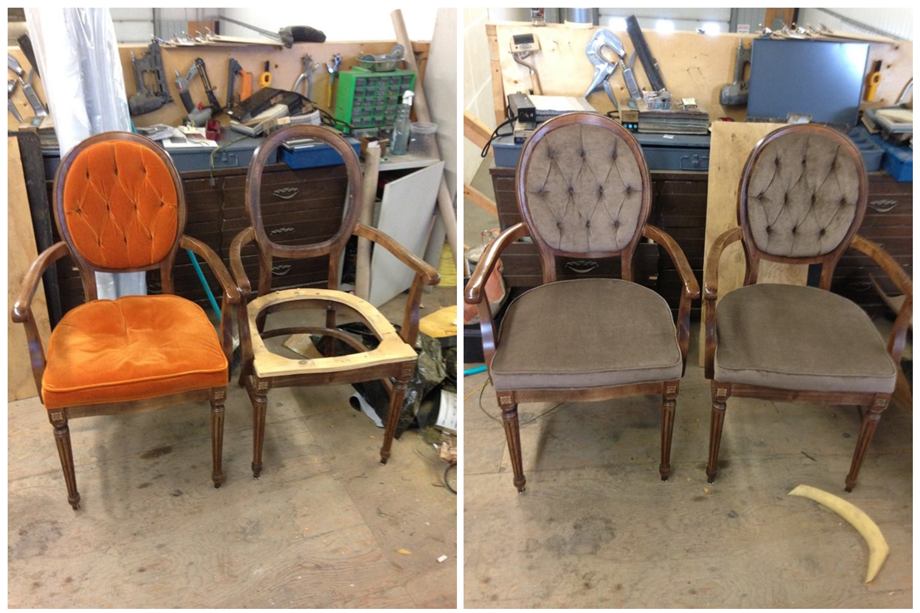 Recovered Funeral Parlour Chairs