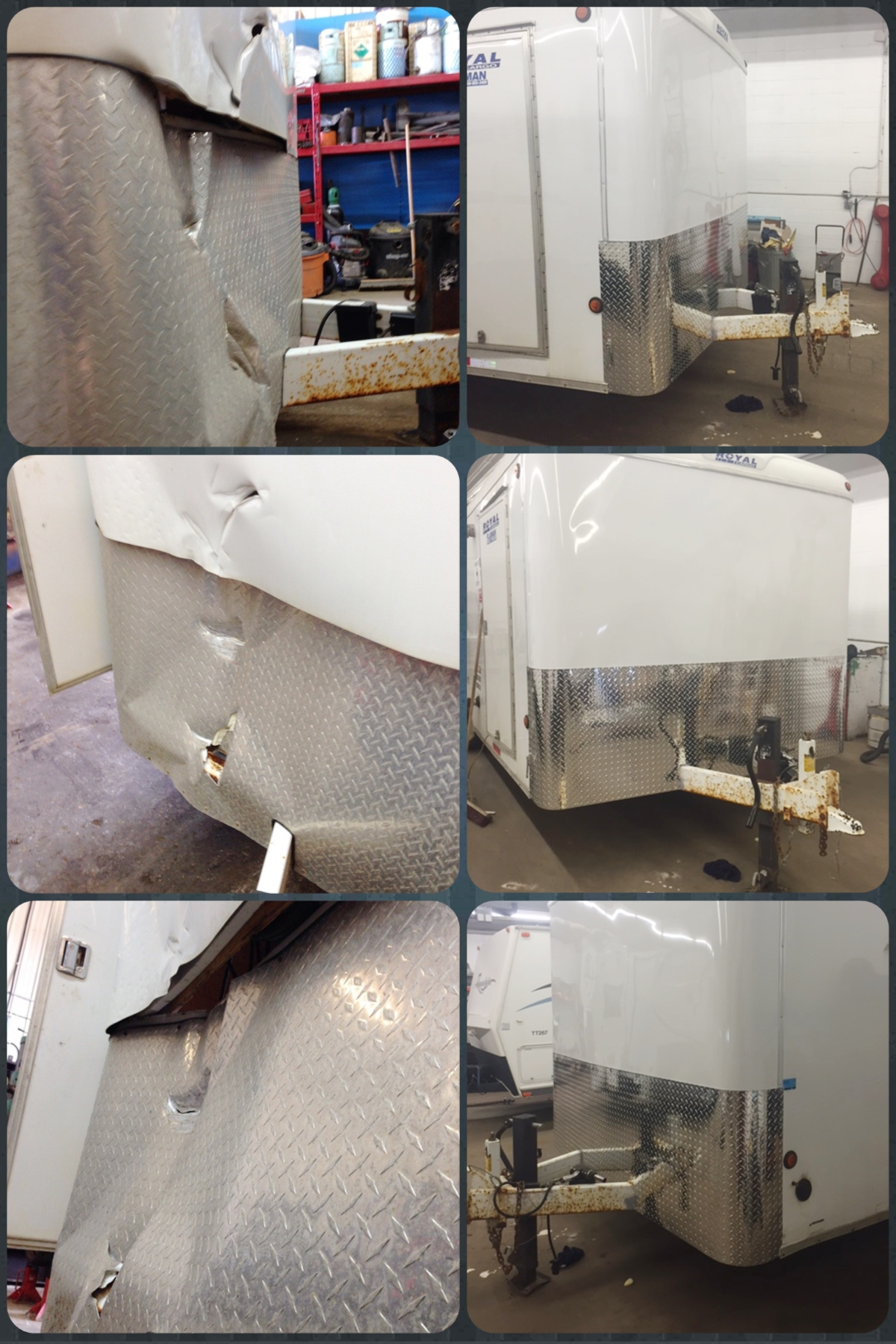 Boiler Trailer Before and After