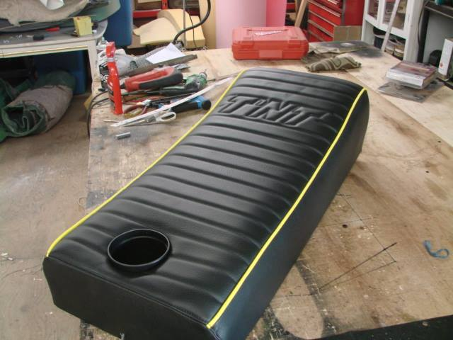 Reupholstered TNT Seat