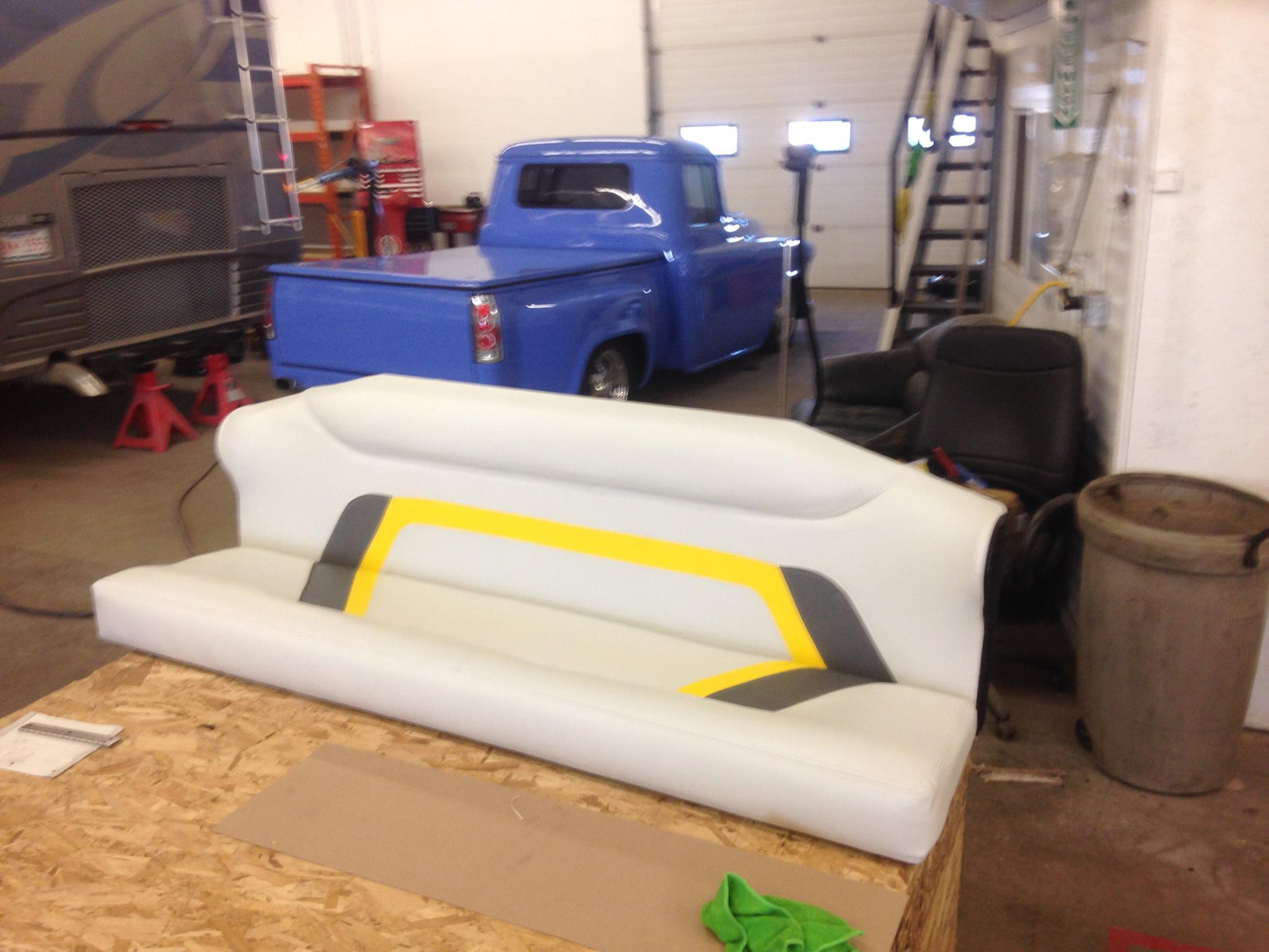 Custom Made Boat Seat