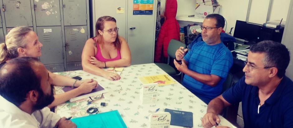 Projeto Tecendo as Águas e EE Nair Ferreira Neves retomam parceria para fortalecer o protagonismo ju