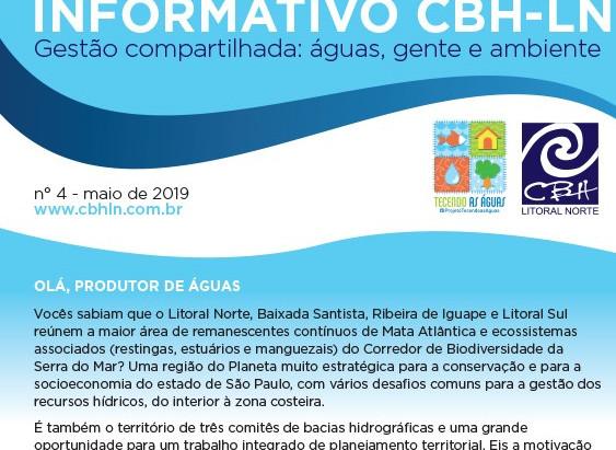 Quer saber tudo sobre a identidade Vertente Litorânea? Confira a 4ª edição do Informativo CBH!