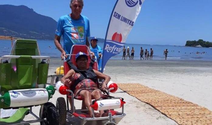 A 17ª edição Onda BGF Praia Acessível 2019 traz parceria inédita