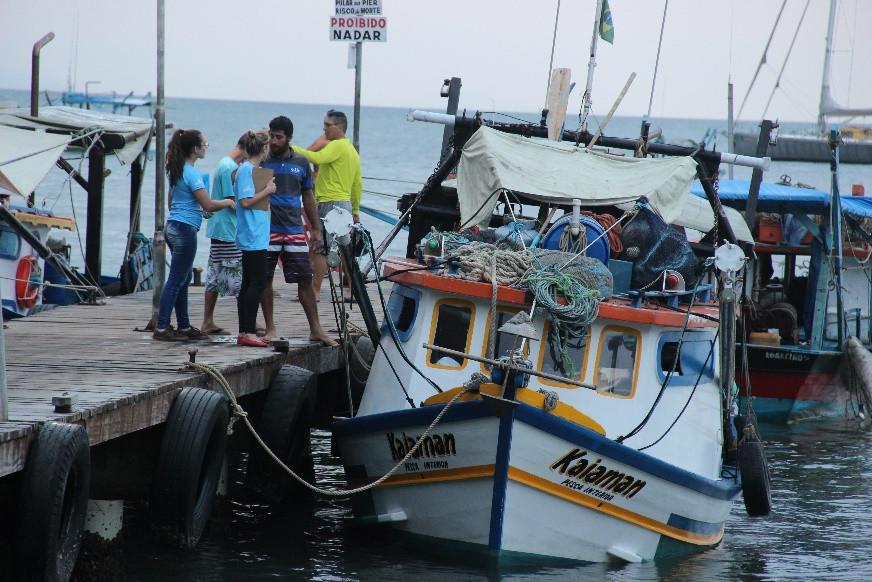 Programa O mar não está pra lixo mobilizou 56 pescadores e cadastrou 58 embarcações ao longo de dois anos da segunda etapa do Projeto Tecendo as Águas