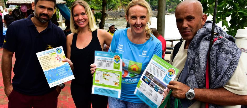 Instituto Supereco cria rede de parcerias para o combate ao  lixo no mar