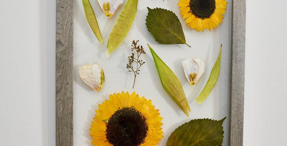 11 x 16 Sunflower Frame