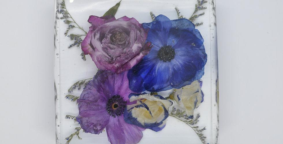 6 x 6 resin wedding bouquet
