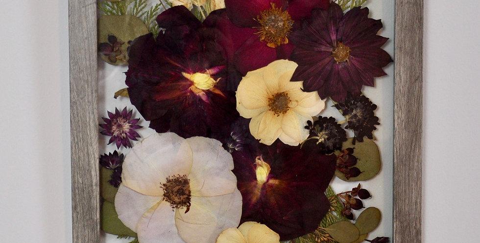 Winter Bridal Bouquet Frame