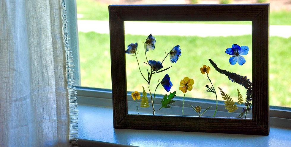 Simple Garden Flower Frame
