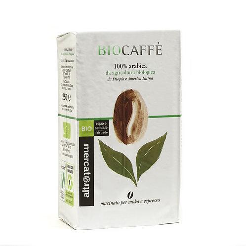 CAFFÈ 100% ARABICA MACINATO BIOCAFFÈ - BIO