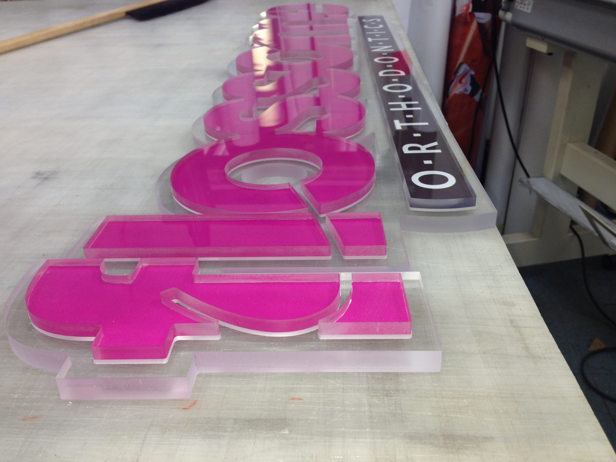 Custom Acrylic Sign