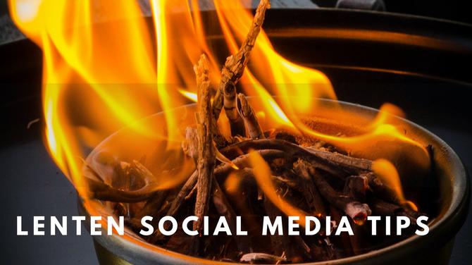 Your Church Social Media Plan for Lent!