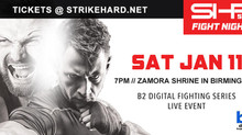 Strikehard 54 Fight Night Results