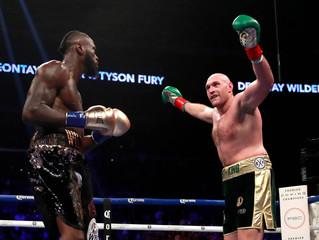 Wilder Pushed To The Limit By Fury, Escapes With Draw