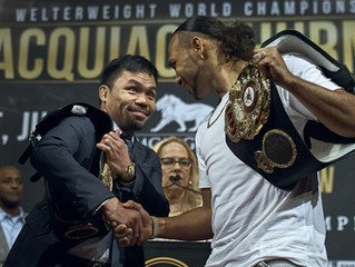 Keith Thurman: I Went Running 3 Miles After Pacquiao Beat Broner.....He Inspires Me!