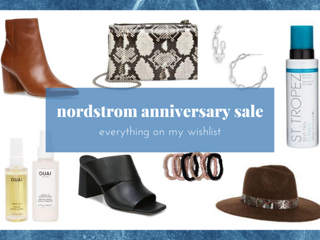 Everything On My Wishlist for the Nordstrom Anniversary Sale