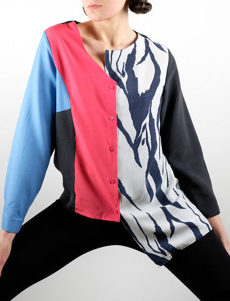 shirt-blue-pink-print-asymmetrical-2-collage-upcycled-front-3.jpg