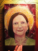 True Self Portrait- acrylic on canvas