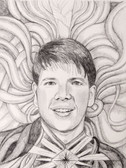 True Self Portrait- graphite on archival paper