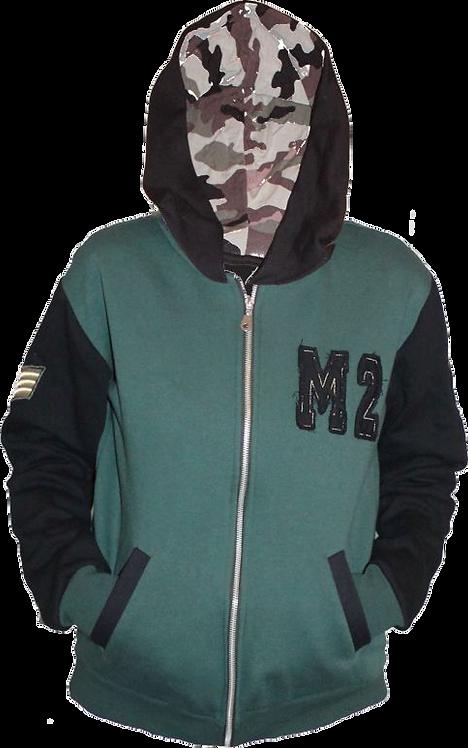 Campera Friza invisible+capuchas personalizadas