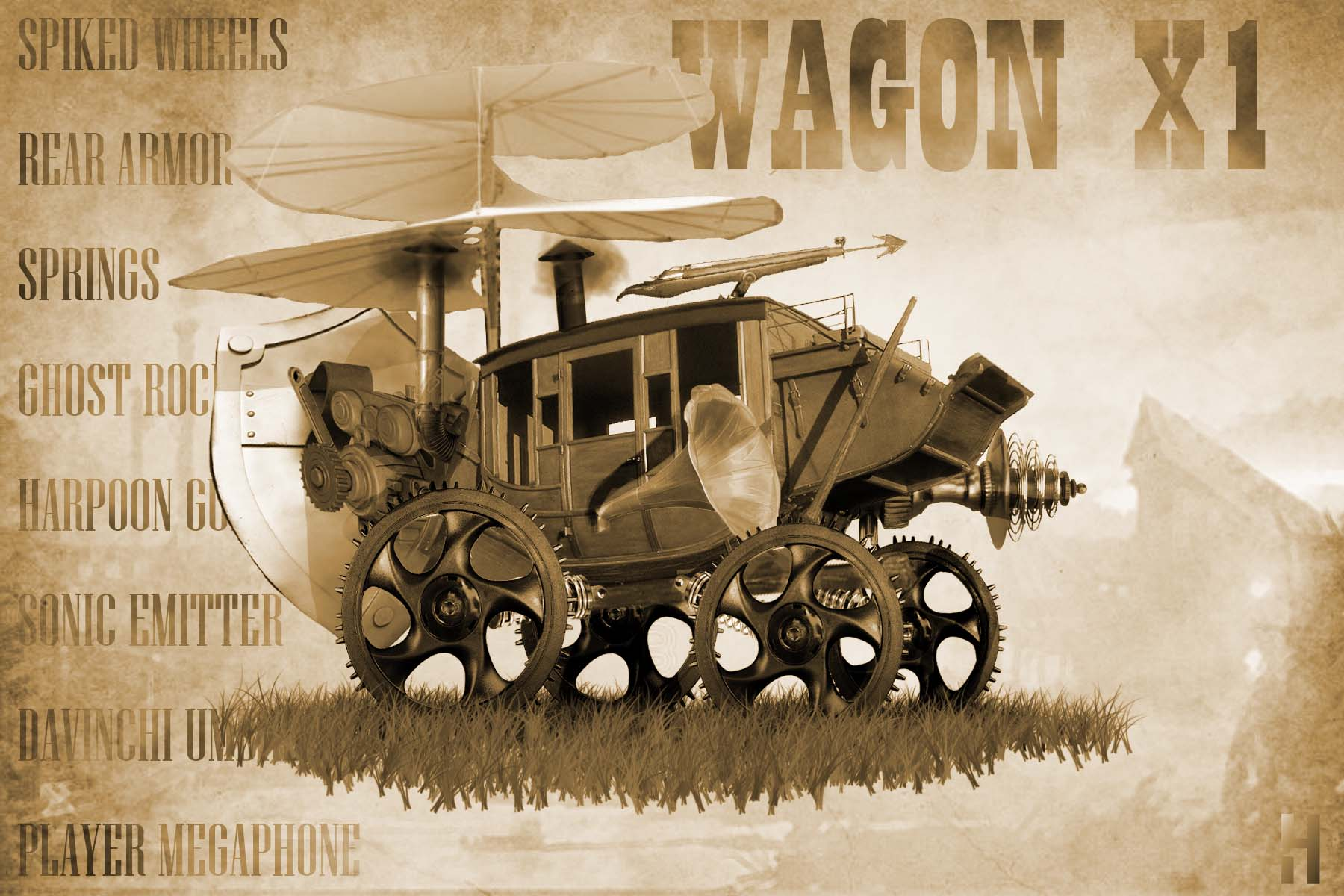 WagonX1