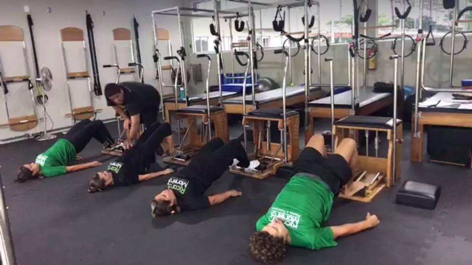 Pilates em Grupo
