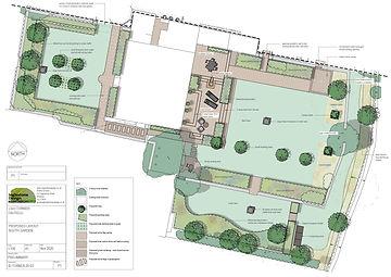south garden design layout
