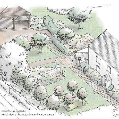 Falfield garden
