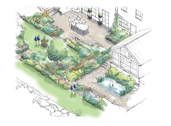 multi-level garden rooms