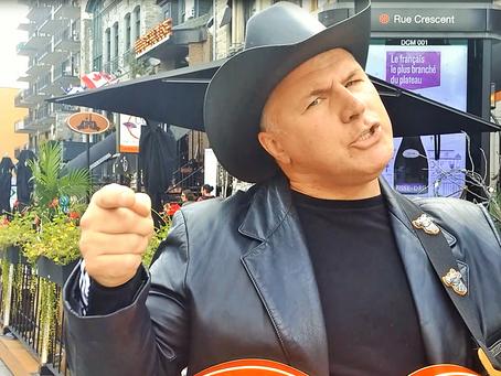 Montreal has his Nashville Urban Cowboy... Peter Myles