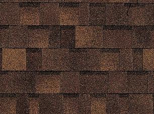 dark brown dimensional roof shingle