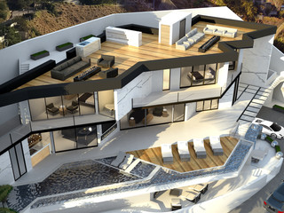 High End Residential Project in Hollywood Hills