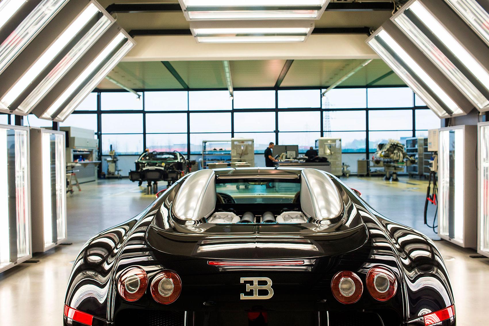 L'Usine Nouvelle, Bugatti