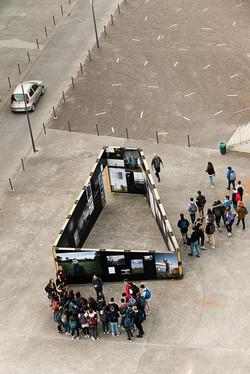 Scénographie espace public
