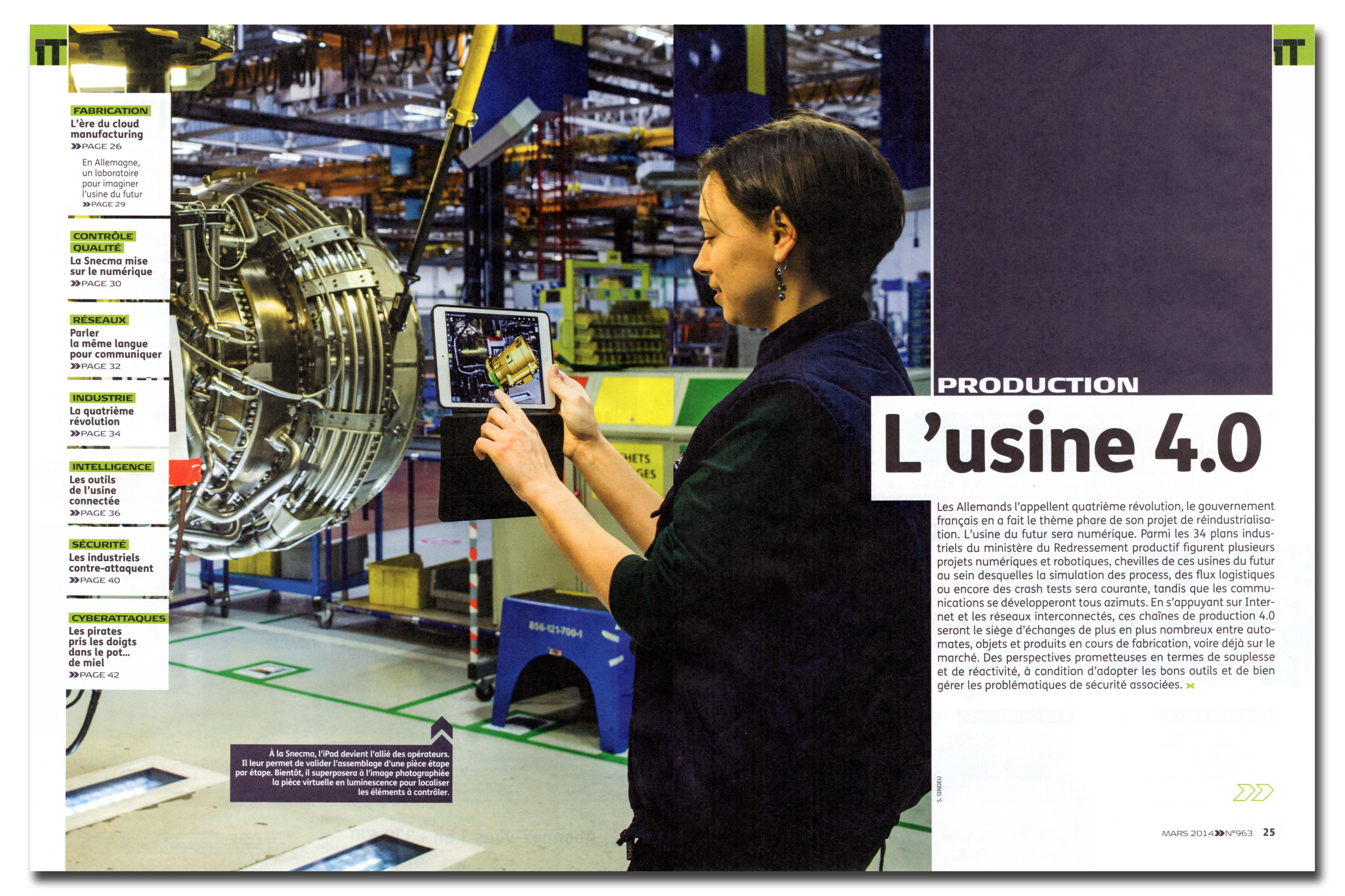 L'USINE NOUVELLE / SÉBASTIEN SINDEU