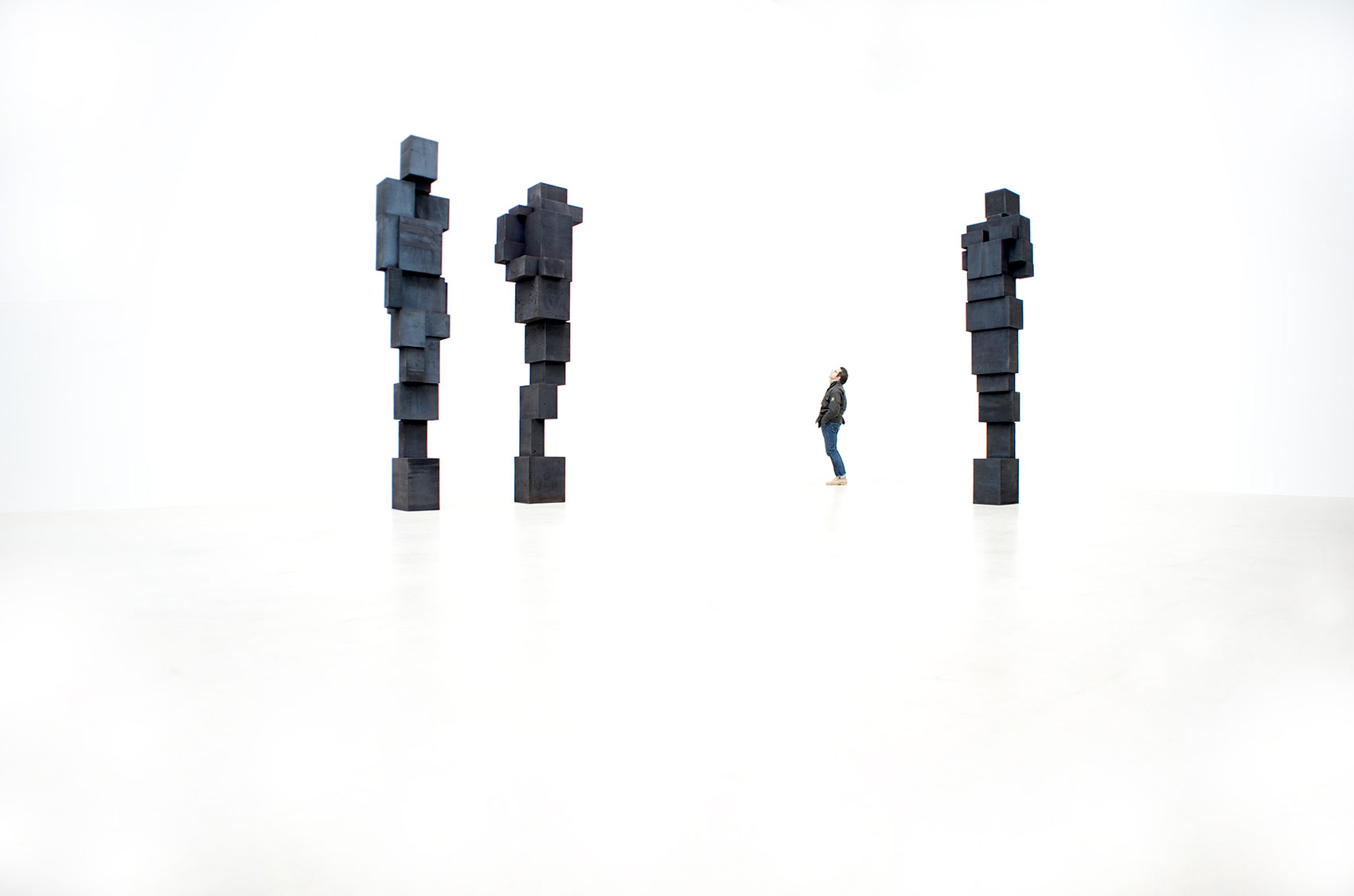 Antony Gormley, Big Fall, 2014