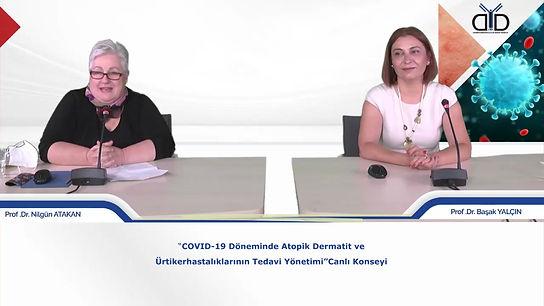 Covid-19 Döneminde Atopik Dermatit ve Ürtiker hastalıklarının Tedavi Yönetimi