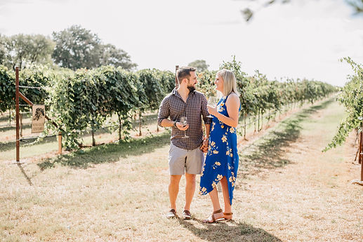 Becca and Will Proposal at Becker Vineya