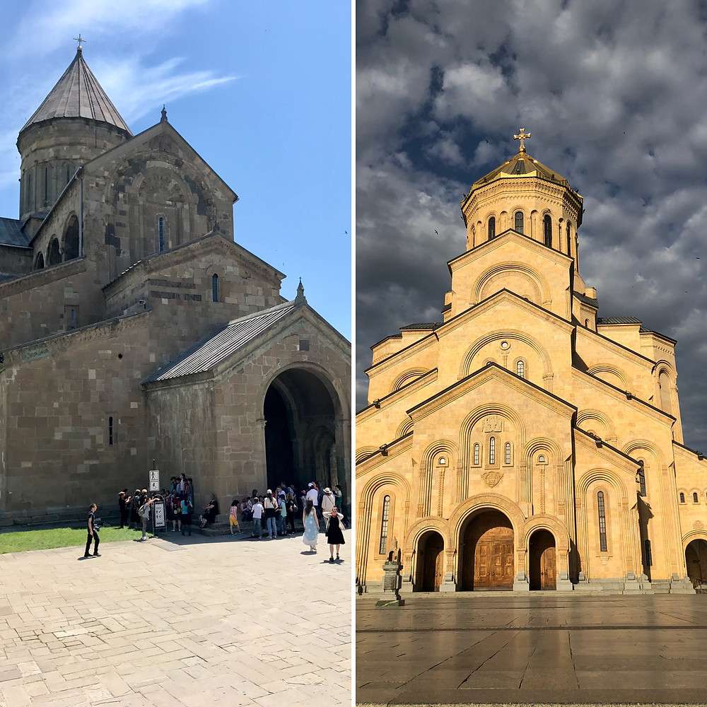 Svetitskhoveli Cathedral and Tbilisi Sameba