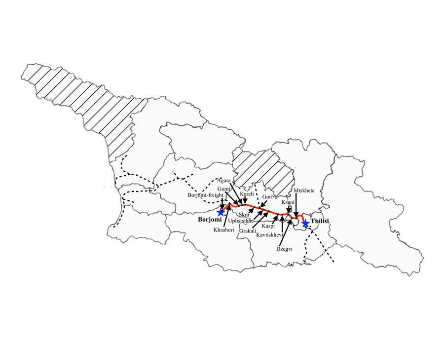 Tbilisi to Borjomi
